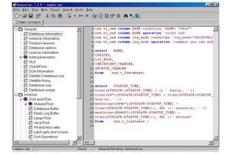 Oracle scripts